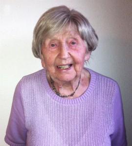 Dagny Carlsson, 102
