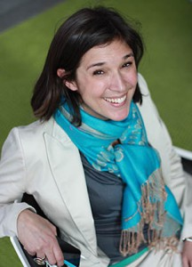 Lena Hök,hållbarhetschef Skandia