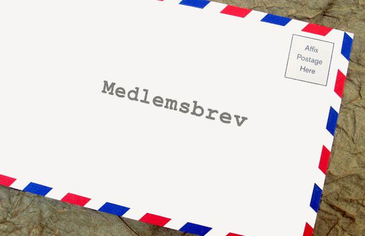 Medlemsbrev september