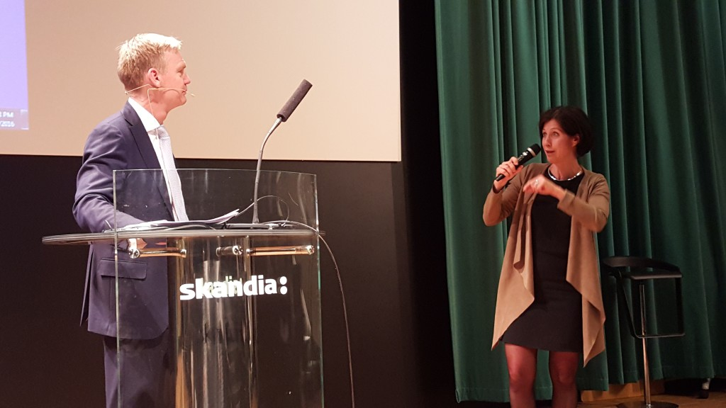 Frans Lindelöw och Sofie Nachemson-Ekl