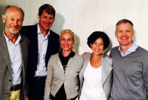 Leif Lundkvist, Mark Pfitzer, Birgitta Edberg, Sophie Nachemson-Ekwall och Frans Lindelöw