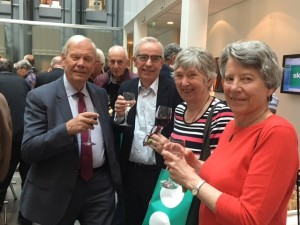 Från ProSkandia: Leif Hansson, Harry Wide, Vivi-Ann Lindstammer och Marie-Louise Cederströmer