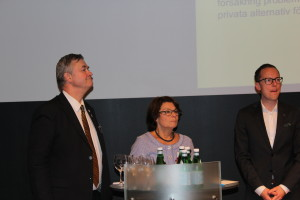 Lars-Arne Staxäng, Solveig Zander och Mats Persson