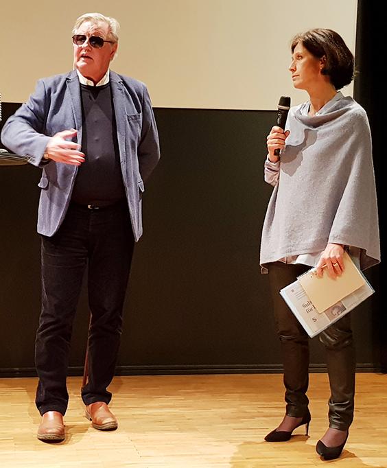 Sophie Nachemson-Ekwall i samtal med Hans G Svensson