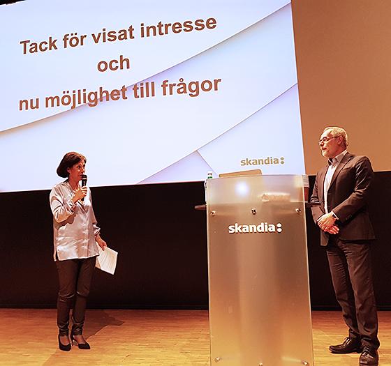 Sophie Nachemsson-Ekvall i samtal med Lasse Ericsson